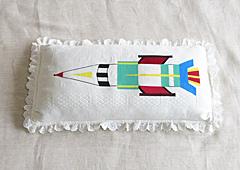 お子さん枕「ロケット2」